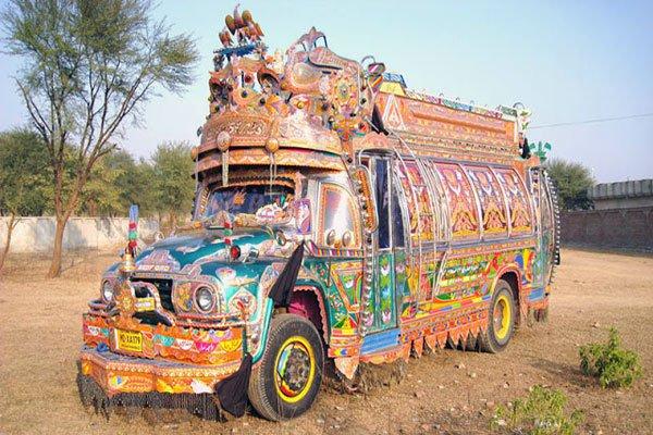 пакистанский автобус