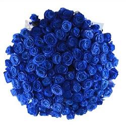 Купить синие розы в Москве