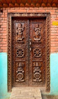 Тибетские двери