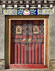Тибетский дверной замок